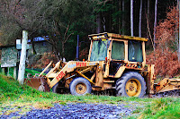 Old bulldozer for hire