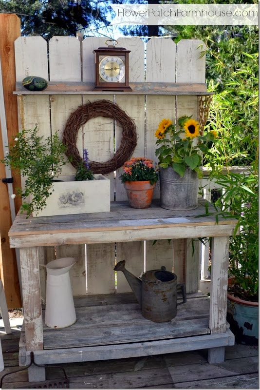 fall potting bench 1
