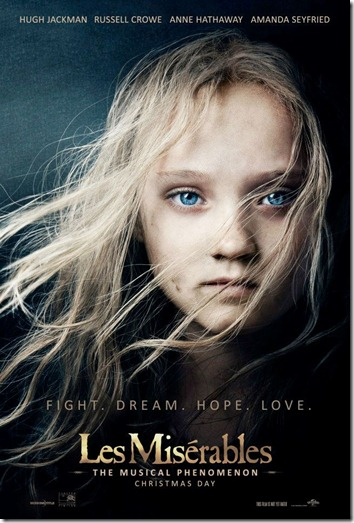 les mis one sheet
