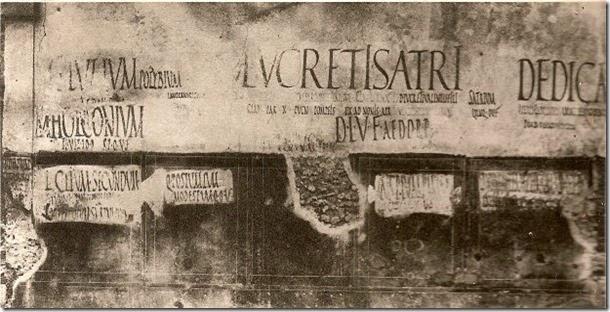 pompeje - graffiti 2