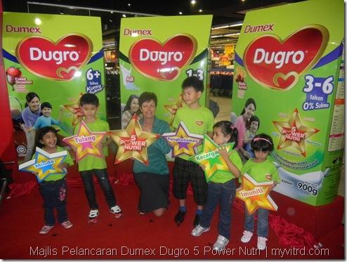 Majlis Pelancaran Dumex Dugro 5 Power Nutri 5