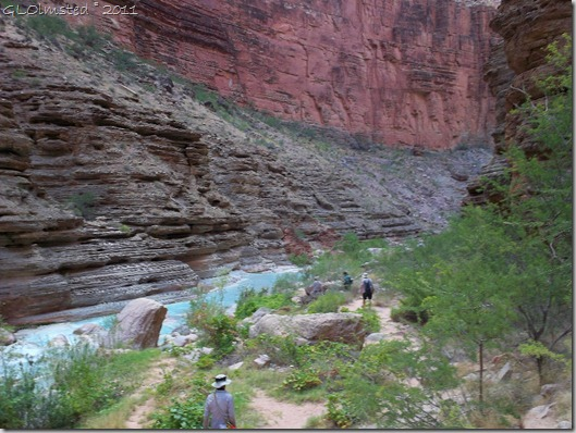 08 Hiking back to the Colorado River along Havasu Creek AZ (1024x768)