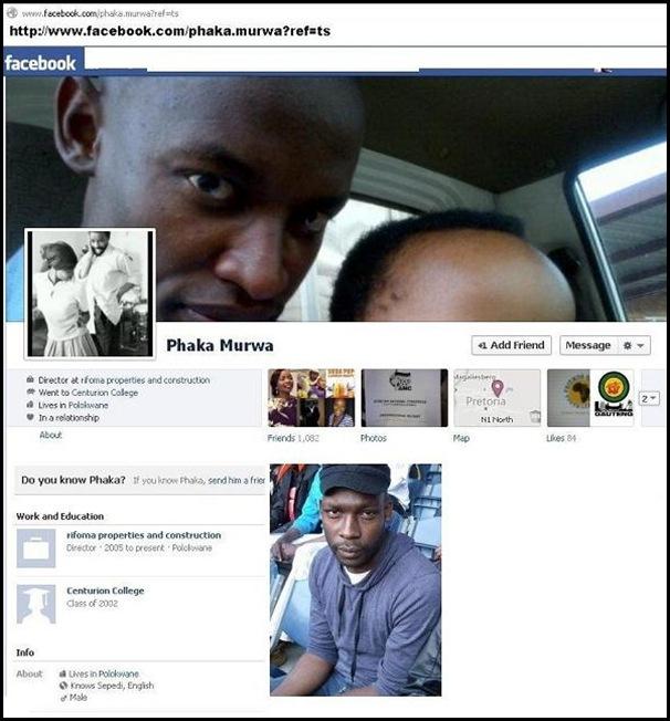 PHAKA MURWA FACEBOOK PAGE HATESPEECH ANC GAUTENG AUG 8 2012