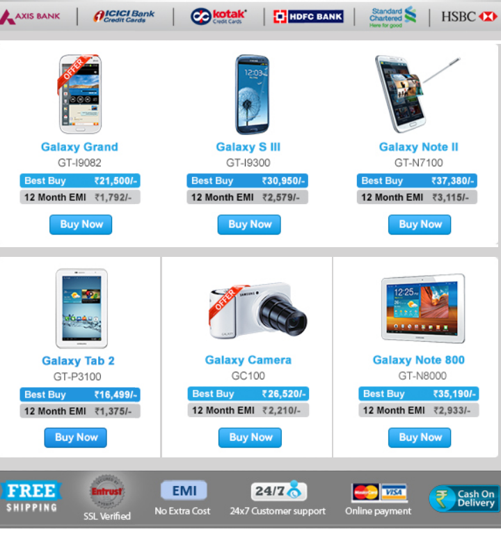 Samsung Galaxy Android devices, EMI offer to end soon ...