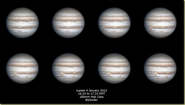 4 January 2013 Jupiter