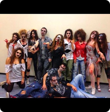 zombies at sport international izmir