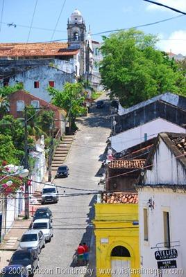 ladeira da misericordia no centro histórico de olinda