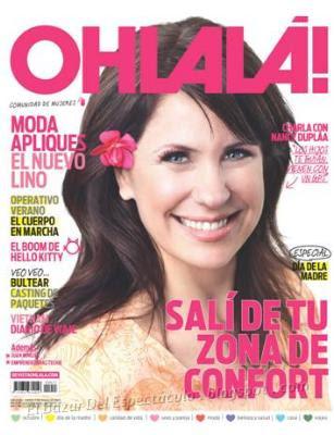 Nancy duplaa en revista ohlala octubre 2012 revista for Revistas de chismes del espectaculo