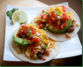 Lammas tomato & corn tortillas
