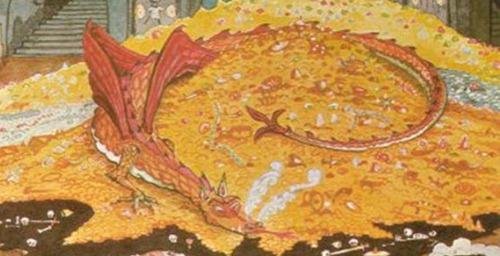 Dragão Smaug O Hobbit