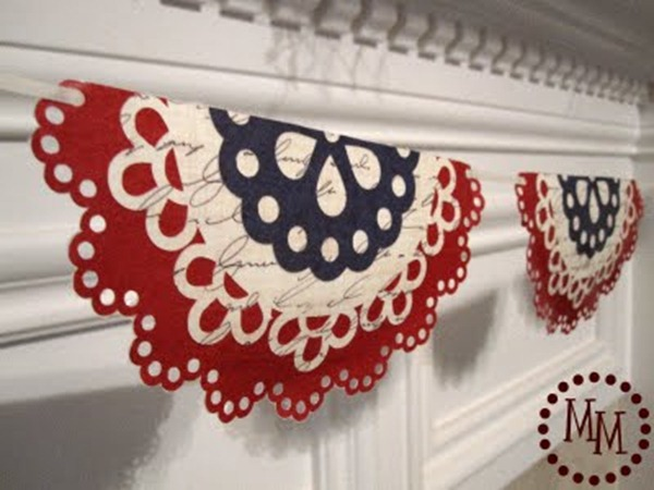 doily banner tutorial