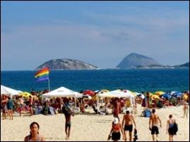 Rio de janeiro praia de Ipanema