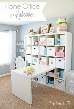 Home Office Makeover - Two Twenty One