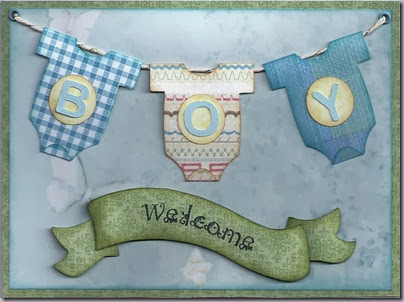 welcome baby banner template