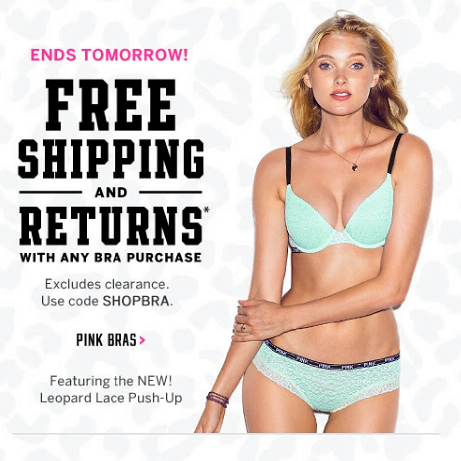 For a limited time only, head over to Victoria's Secret where you can score 50% Off PINK Swimwear! Prices are already marked down and no promo code is required.