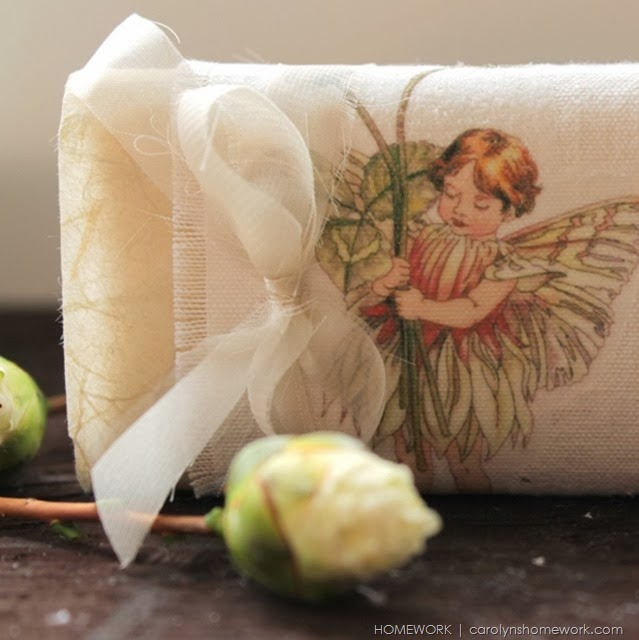 Valentine Soap Gift ~ diy wrapper via homework | carolynshomework.com