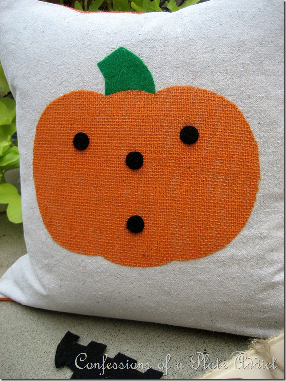 Jack-O-Lantern Pillow 3