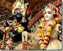 [Worship of Radha and Krishna]