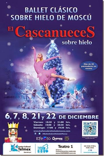 cartelera de fechas y horarios del cascanueces sobre hielo ballet de moscu 2013