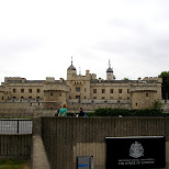 the tower of london in London, London City of, United Kingdom