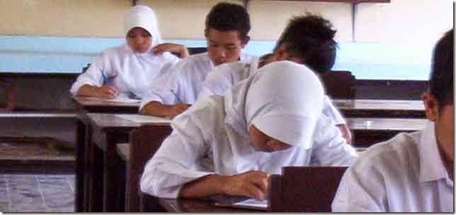 Pelaksanaan USB SMP di Lombok Timur