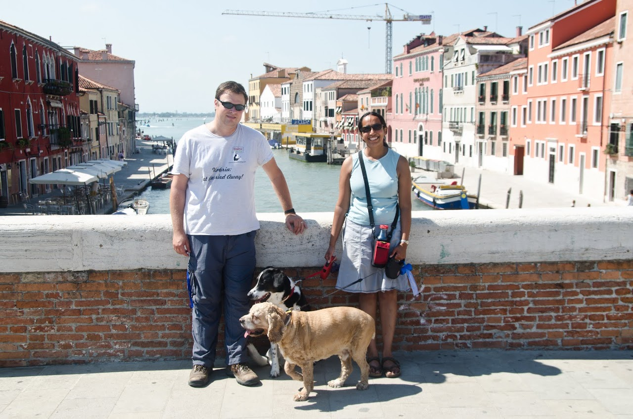 Us in Cannaregio