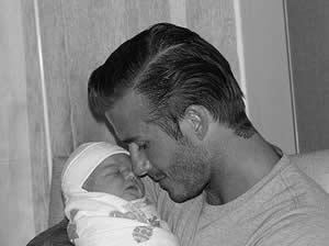 foto de la hija de Victoria Beckham