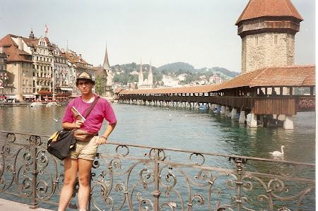 Ce vizitam la 20 ani: Luzern, podul vechi