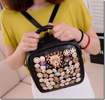 ID 7837 Black (196.000) - PU Leather, 20 x 20 x 10