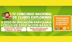 ¡Atención educadores/as!: Están abiertas las inscripciones para participar en el Taller de Capacitación Concurso Explorines