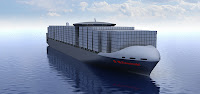 Kawasaki Heavy Industries has designed a 1,010-foot, LNG-capable container ship with insulated prismatic tanks (nearly 1.85 million gallons capacity) providing more cargo space. A 'unique' insulation system reduces boil-off, says DNV, which has approved the design.