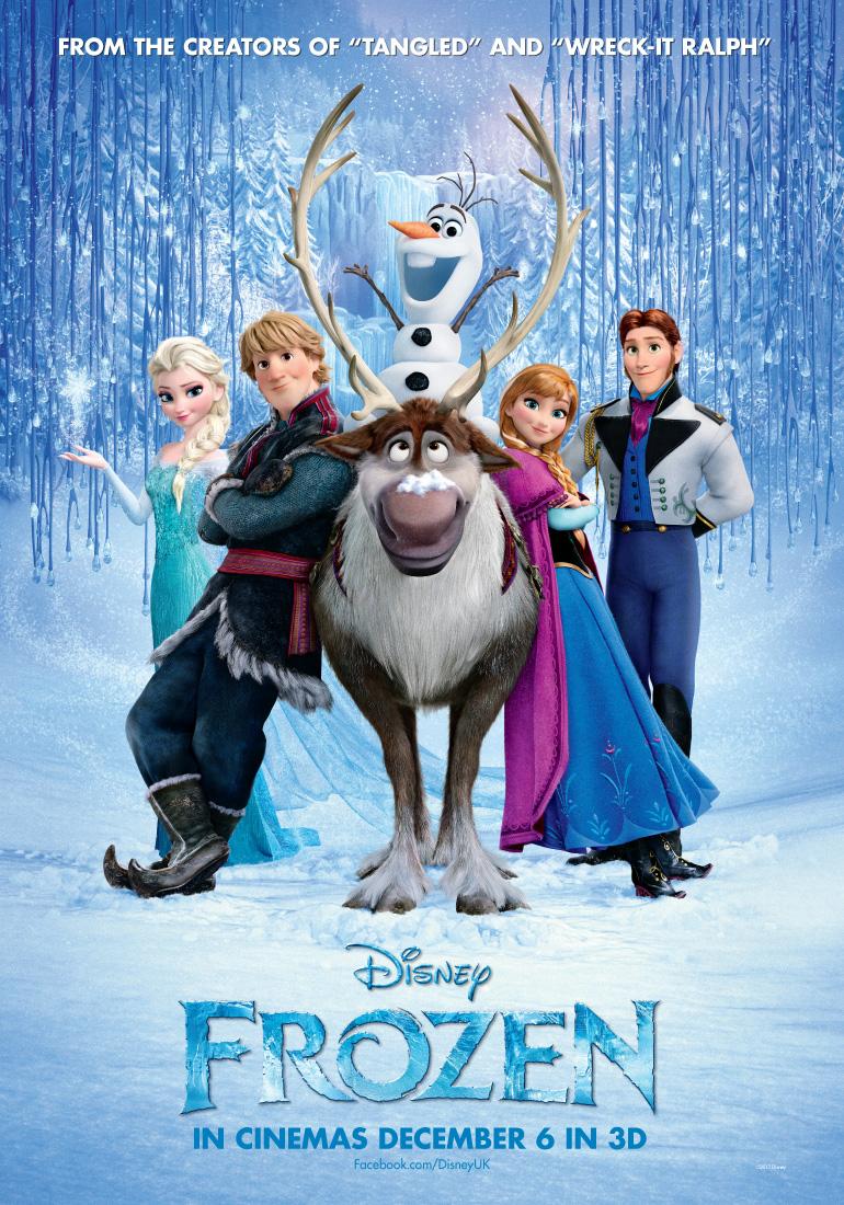 Disney Frozen Poster 2013