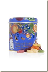 Musical Tin with Mini Jelly Babies 300g $35