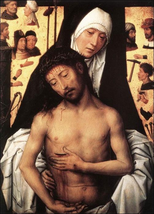 Memling, Vierge et Christ de douleur