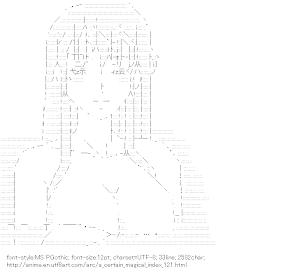 [AA]Kanzaki Kaori (A Certain Magical Index)