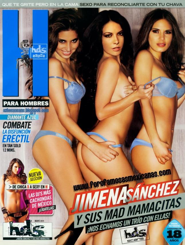 Jimena Sanchez Revista H Mayo 2011