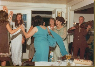 6 f dancing at pams wedding 1977