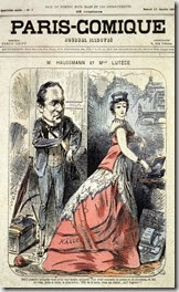 Haussmann et Mademoiselle Lutèce