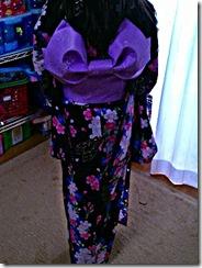 平池先生の浴衣レッスン (2)