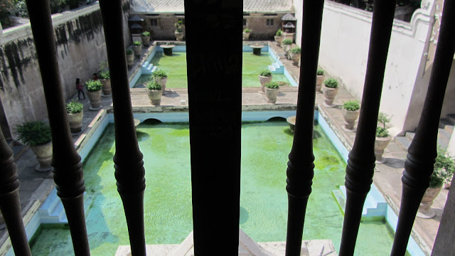 A view from one of the towers previous sultans would use to select one of their bathing beauties.