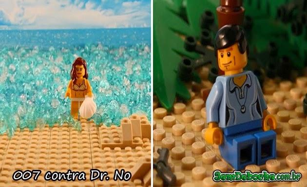 FILMES RECRIADOS EM LEGO: 007!