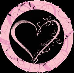 valentines dag merkelapper svart m litt rosa uten tekst