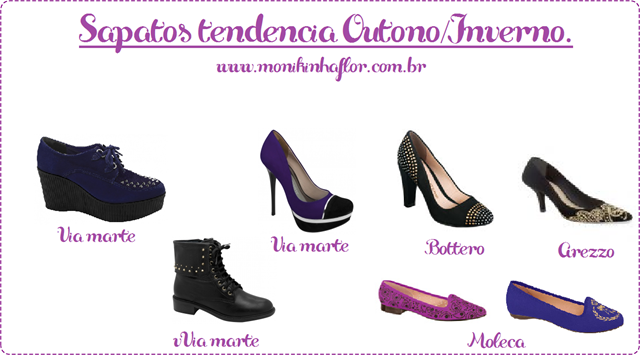 Sapatos out;inv 2013