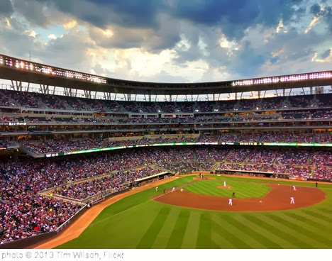 'A night at Target Field' photo (c) 2013, Tim Wilson - license: http://creativecommons.org/licenses/by/2.0/