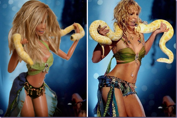 Britney-Spears-Boneca-I'm-a-Slave-for-You-VMA