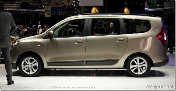 Dacia Lodgy Autosalon Geneve 2012 09