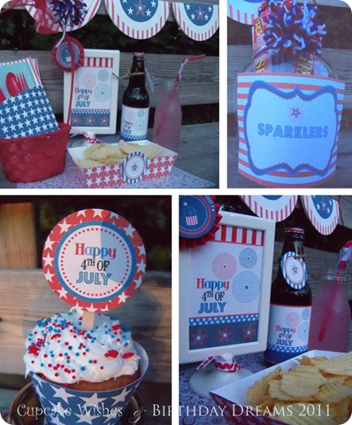 July 4th Recap Printables