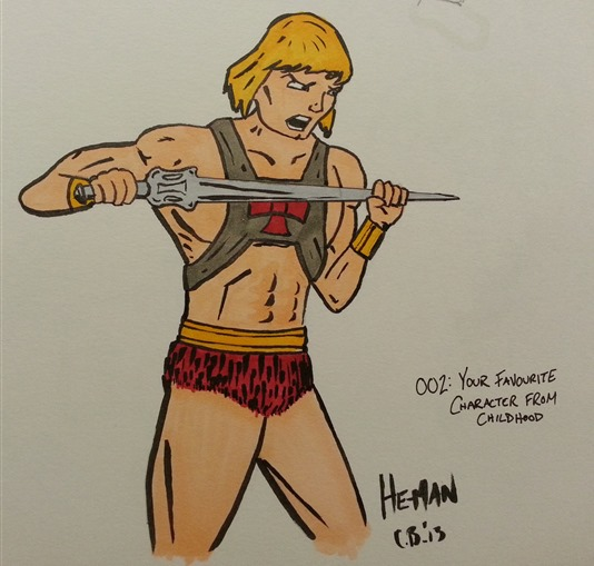 Day 02 He-man