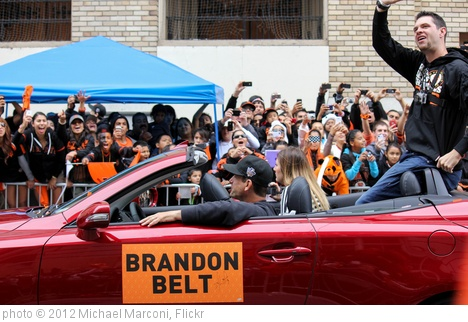 'Brandon Belt' photo (c) 2012, Michael Marconi - license: http://creativecommons.org/licenses/by/2.0/