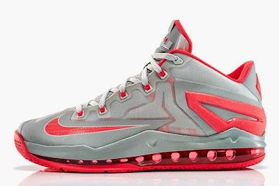 nike lebron 11 low gr laser crimson 2 03 Release Reminder: Nike Max LeBron XI Low Laser Crimson